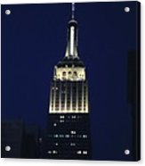 Empire State Building New York City Acrylic Print