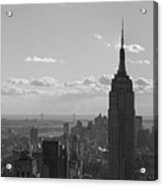 Empire State Building Panorama Acrylic Print