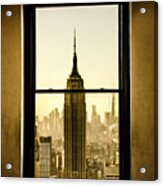 Empire State Building View Acrylic Print