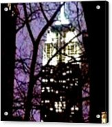 Empire State From Madison Park 1 Acrylic Print