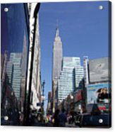 Empire State Of Mind In The Late Springtime Acrylic Print