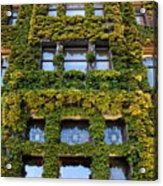 Empress Hotel Windows Acrylic Print