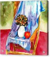 Empty Chair Acrylic Print by Zara GDezfuli
