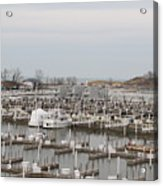 Empty Harbor Acrylic Print