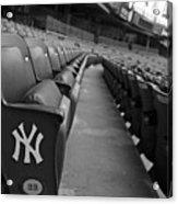 Empty Stadium Acrylic Print