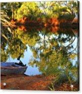 Emu Creek Station 2am-111427 Acrylic Print