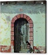 En Calle Ejercito Nacional Acrylic Print