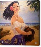 En La Playa Acrylic Print