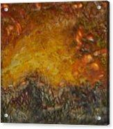 Encaustic Sky Blaze Acrylic Print