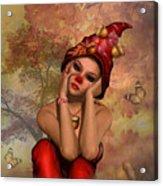 Enchanted Acorn Elf Acrylic Print