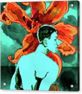 Enchanted Boy With Lilies Acrylic Print