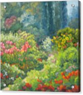 Enchanted Garden Acrylic Print