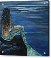 Enchanted Mermaid Acrylic Print