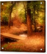 Enchanted Path - Allaire State Park Acrylic Print