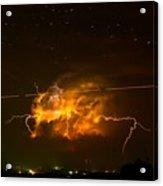Enchanted Rock Lightning Acrylic Print