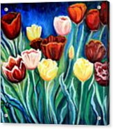 Enchanted Tulips Acrylic Print