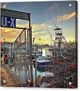 End Of Fishing Day Acrylic Print