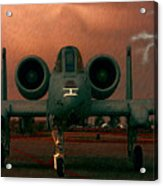 End Of The Mission Acrylic Print