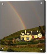 End Of The Rainbow Acrylic Print