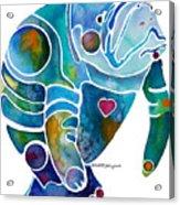 Endangered Manatee Acrylic Print
