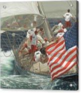 Endeavour's Flag Acrylic Print