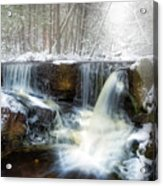 Enders Ice Square Acrylic Print
