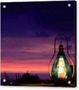 Ending Glow  Acrylic Print