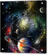 Endless Beauty Of The Universe Acrylic Print