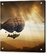 Endless Journey - Steampunk Incredible Adventure Acrylic Print