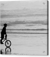 Endless Possibilities - Black And White Acrylic Print