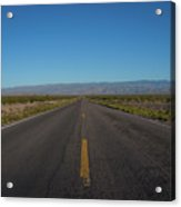 Endless Road  Acrylic Print
