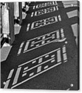 Endless Walkway Acrylic Print