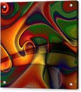 Energetic Acrylic Print