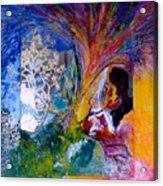 Energy Explosion Acrylic Print