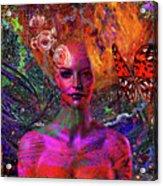 Energy Meridian Acrylic Print