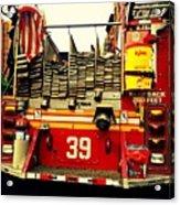Engine 39 - New York City Fire Truck Acrylic Print