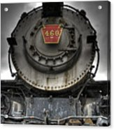 Engine 460 Front And Center Acrylic Print