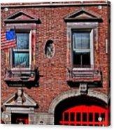 Engine 50 - Boston Acrylic Print