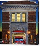 Engine Company 10 Acrylic Print