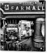 Engine - Farmall Tractor  Acrylic Print
