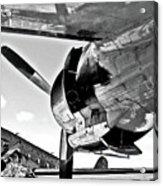 Engine Lcokheed Constellation Acrylic Print