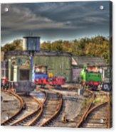 Engine Sheds Quainton Road Buckinghamshire Railway Acrylic Print