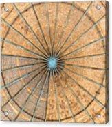 Engineered Wood Dome Acrylic Print