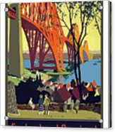 England And Scotland, Bridge Acrylic Print