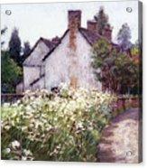England Cottage Acrylic Print