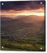 England, Cumbria, Lake District National Park Acrylic Print