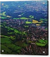 An Aerial Vision Of England Acrylic Print