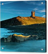 England, Northumberland, Dunstanburgh Castle Acrylic Print