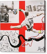England Acrylic Print