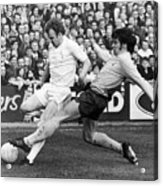 England: Soccer Match, 1972 Acrylic Print by Granger